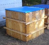 Micro-Bin Composting Cover